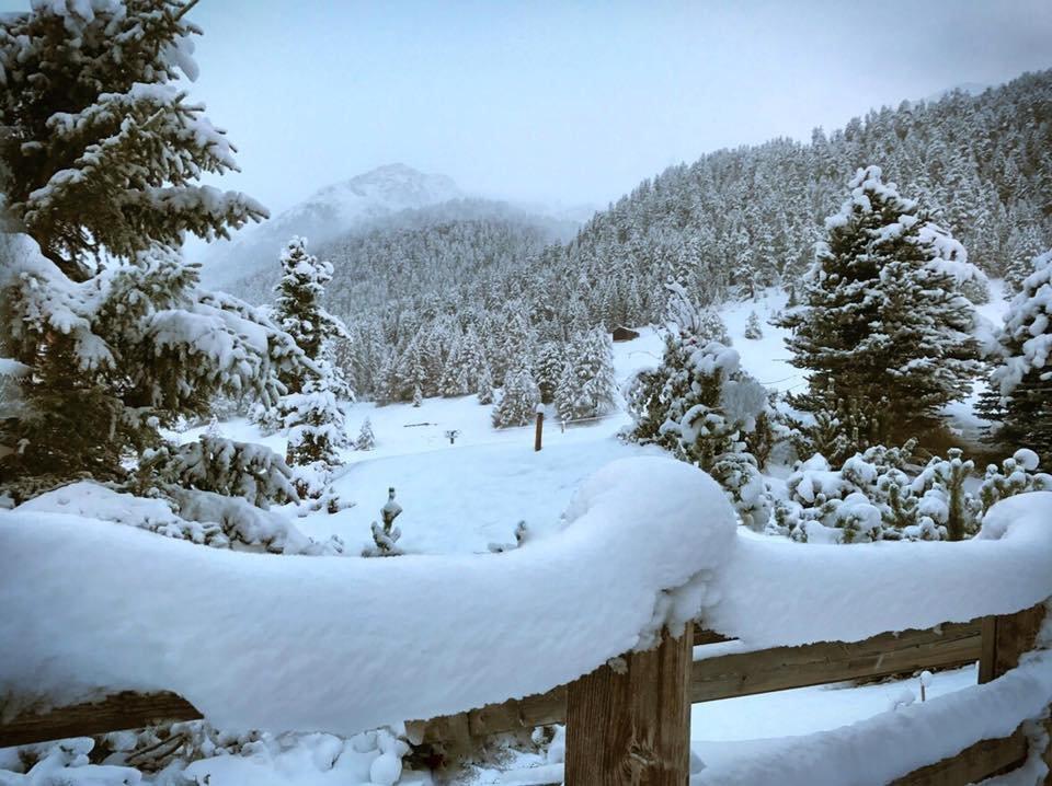 Neve fresca a Livigno, 10 Ottobre 2016 - © Pisteurs Secouristes Les 2 Alpes