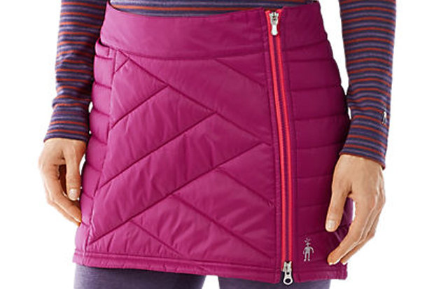 Smartwool Women's Corbet 120 Skirt: $120 For the ladies on your list, this warm, fun and fashionable skirt is a versatile must-have for the active female. Slap over your long johns or yoga tights and BOOM, instant and appropriate après athleisure.
