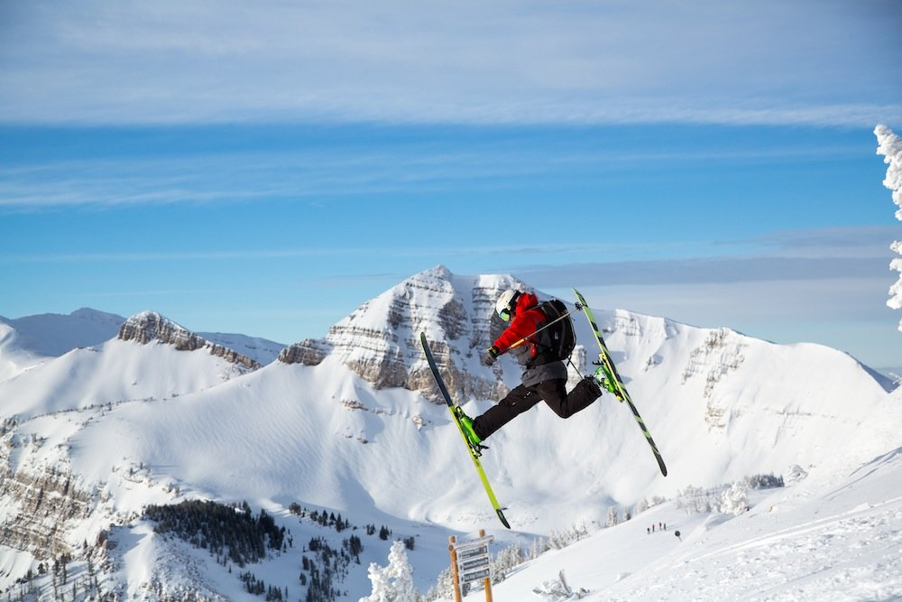 Single or double daffy? We'll never know... - © Jackson Hole Mountain Resort