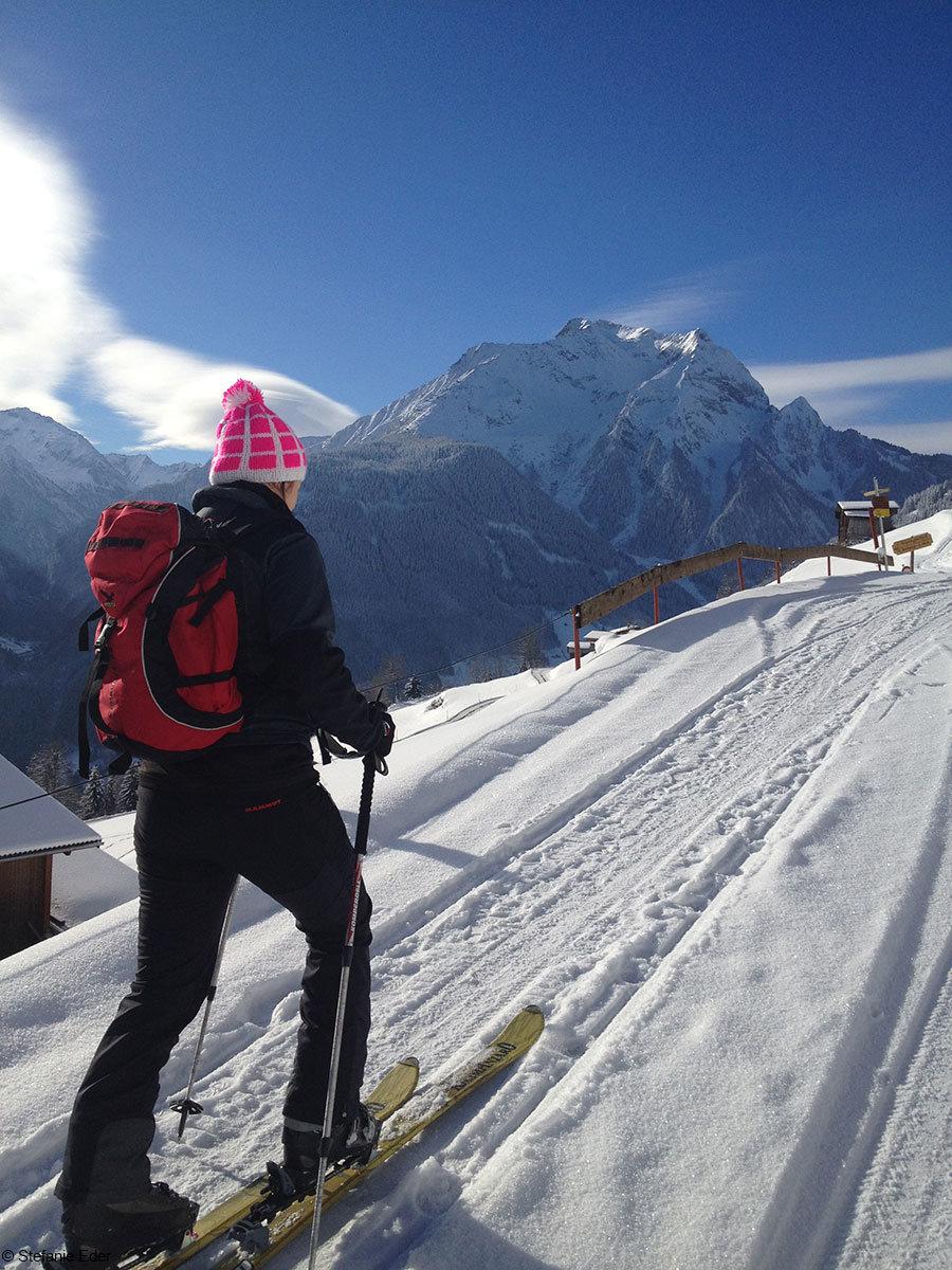 Traumhafte Skitour in Mayrhofen - © Stefanie Eder