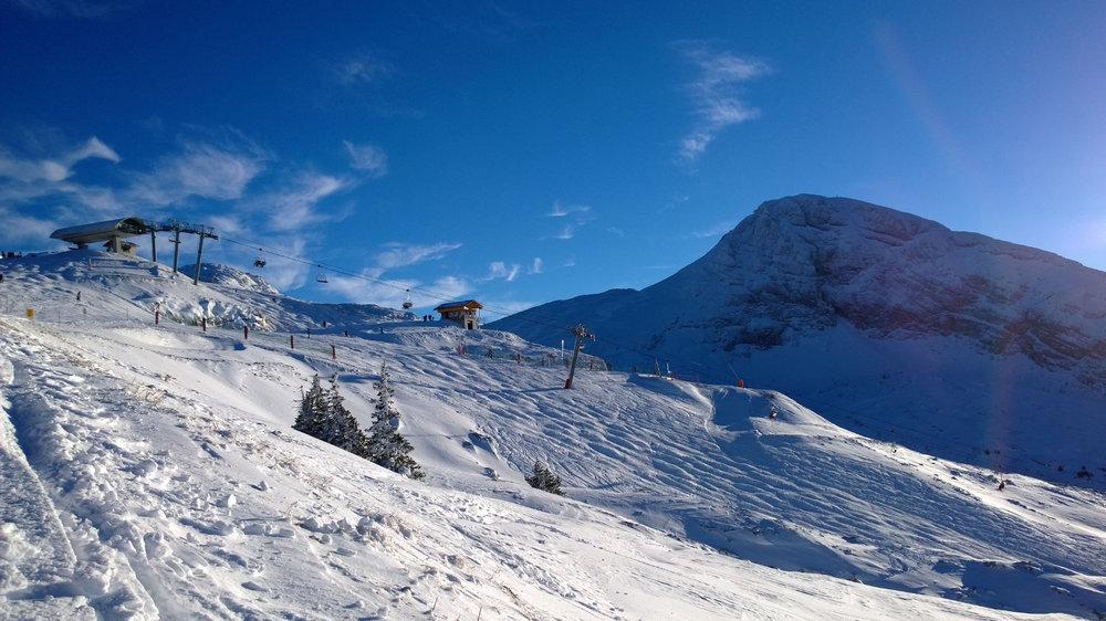Belle journée en perspective sur le domaine skiable de Villard de Lans - © I. Jouvin