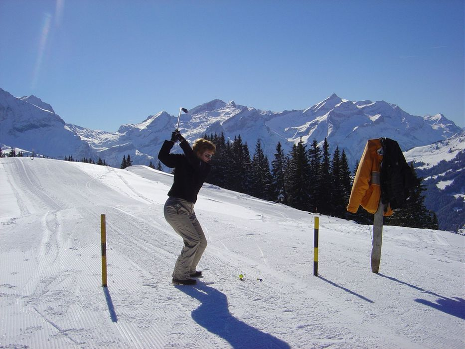 Gstaad SUI snowgolf
