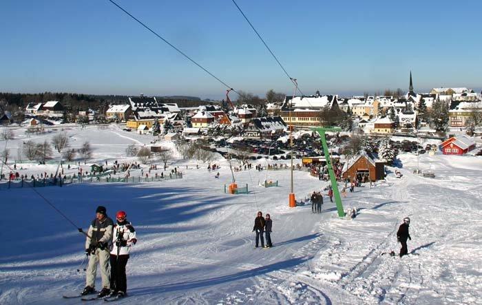 Skilifte Geising Altenberg