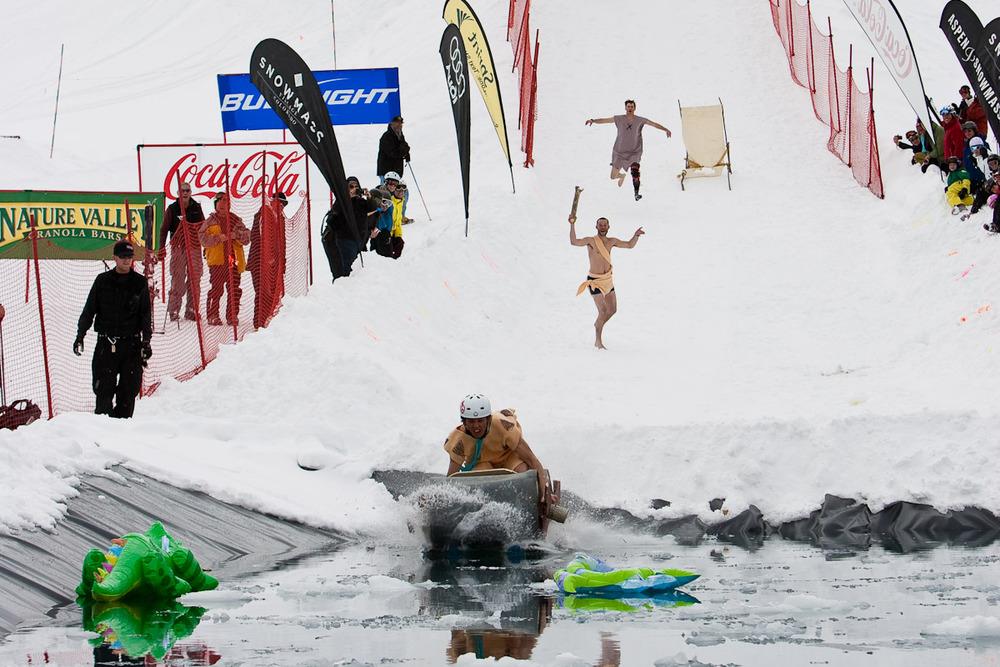 First place winner at Aspen's Schneetag