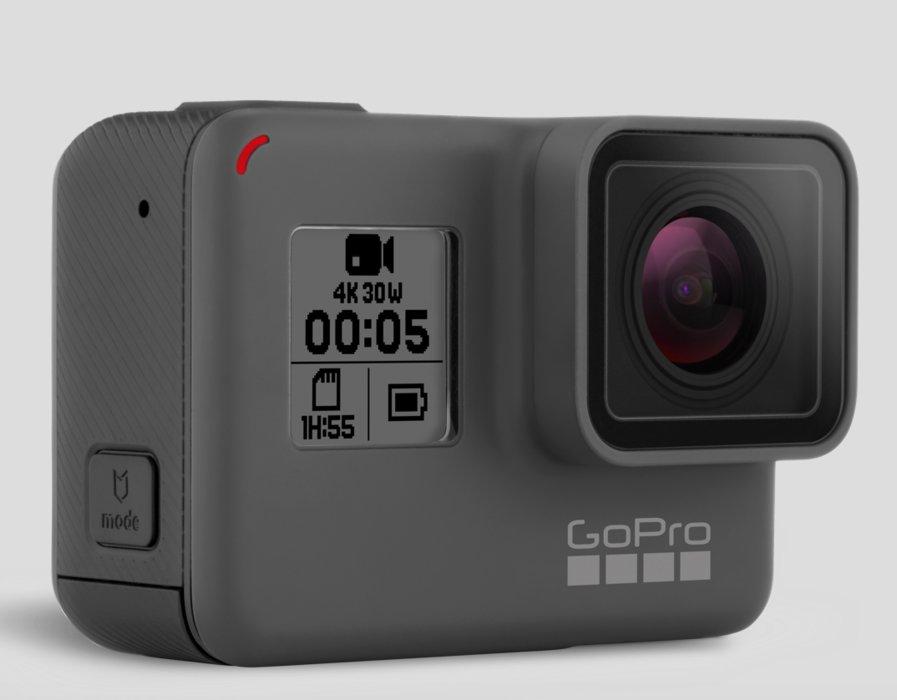GoPro Hero5. Det nyeste actionkameraet fra GoPro er perfekt for han som elsker nye leketøy. - © https://shop.gopro.com/EMEA/cameras/