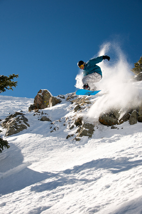 Taos NM Snowboarder 2. Photo by Thatcher Dorn.