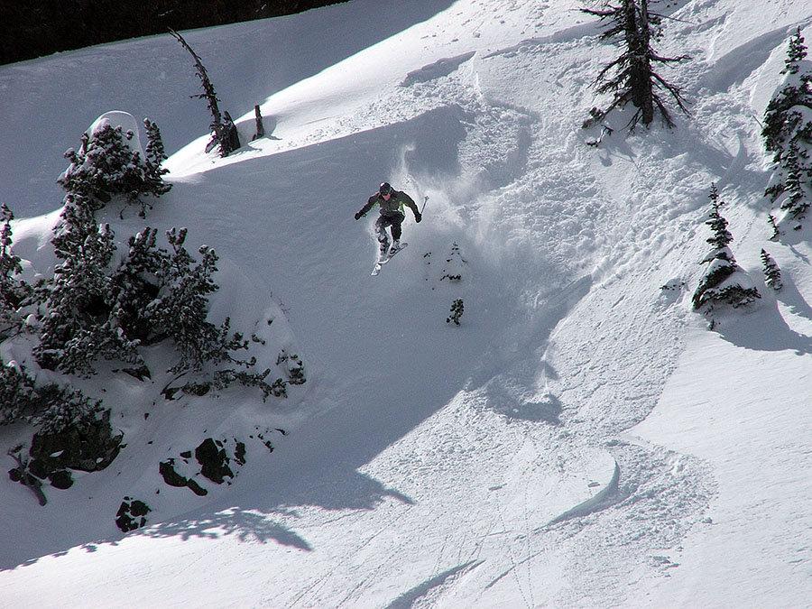 Early skiing at Mission Ridge, WA