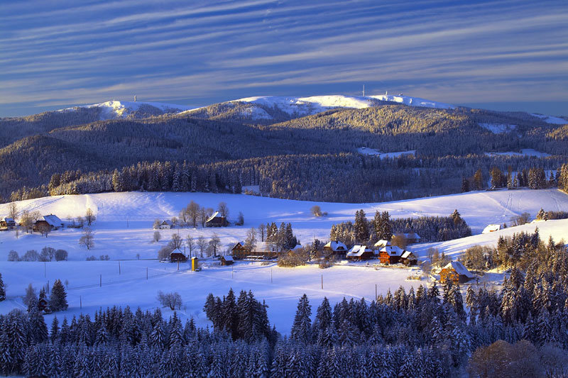 Panorama des Feldberggebietes