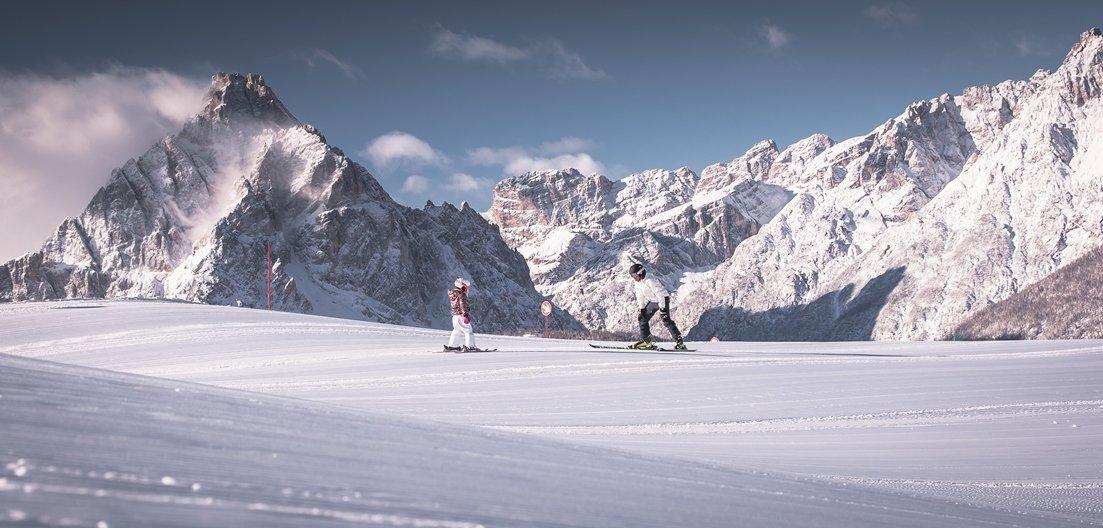 Italské lyžařské středisko 3 Cime Dolomiti