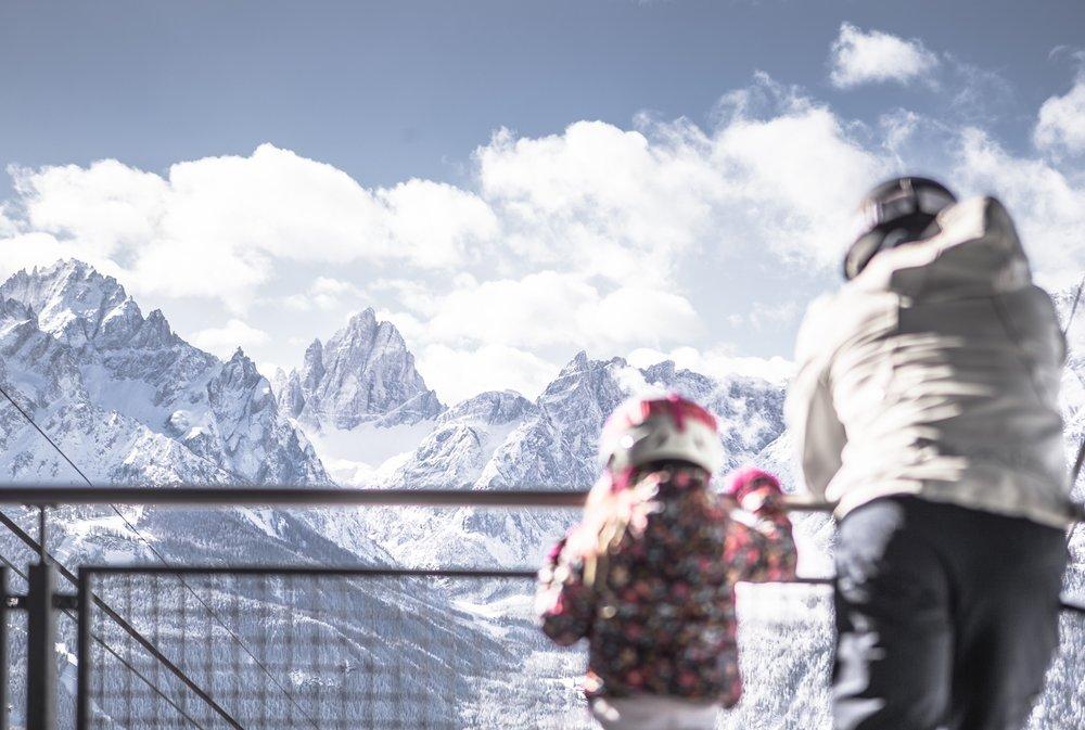 Jedinečný výhled v Tre Cime Dolomiti