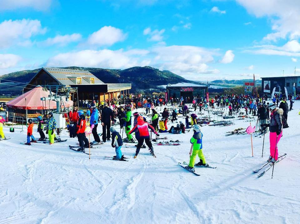 Skipark Červená Voda (Ski Buková hora) 31.12.2018 - © facebook Skibukovka