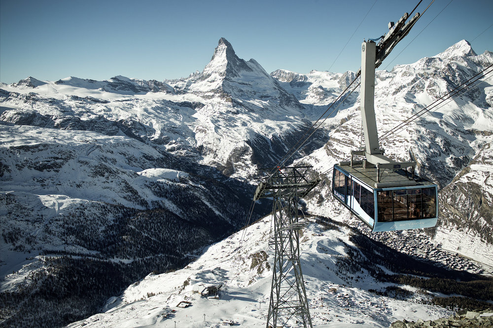 Gondel auf das Rothorn - © Zermatt Tourismus | Michael Portmann
