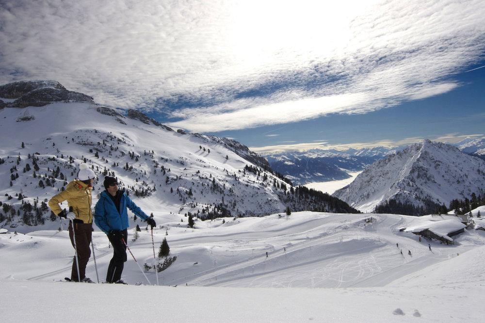 Skifahren in Maurach (Rofan) - © Achensee Tourismus