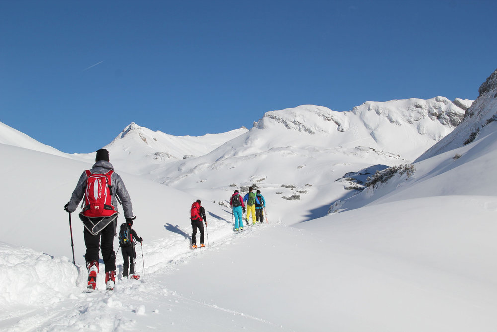 Skitour im Rofangebirge - © Achensee Tourismus