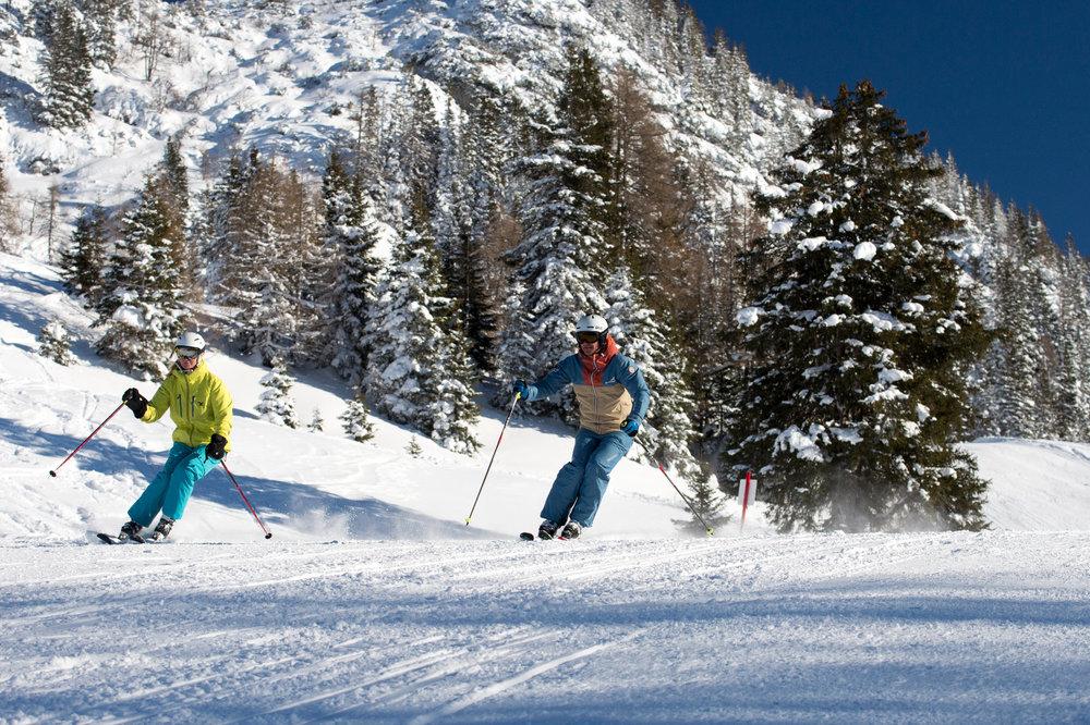 Skifahren in der Almenwelt Lofer - © © Salzburger Saalachtal Tourismus