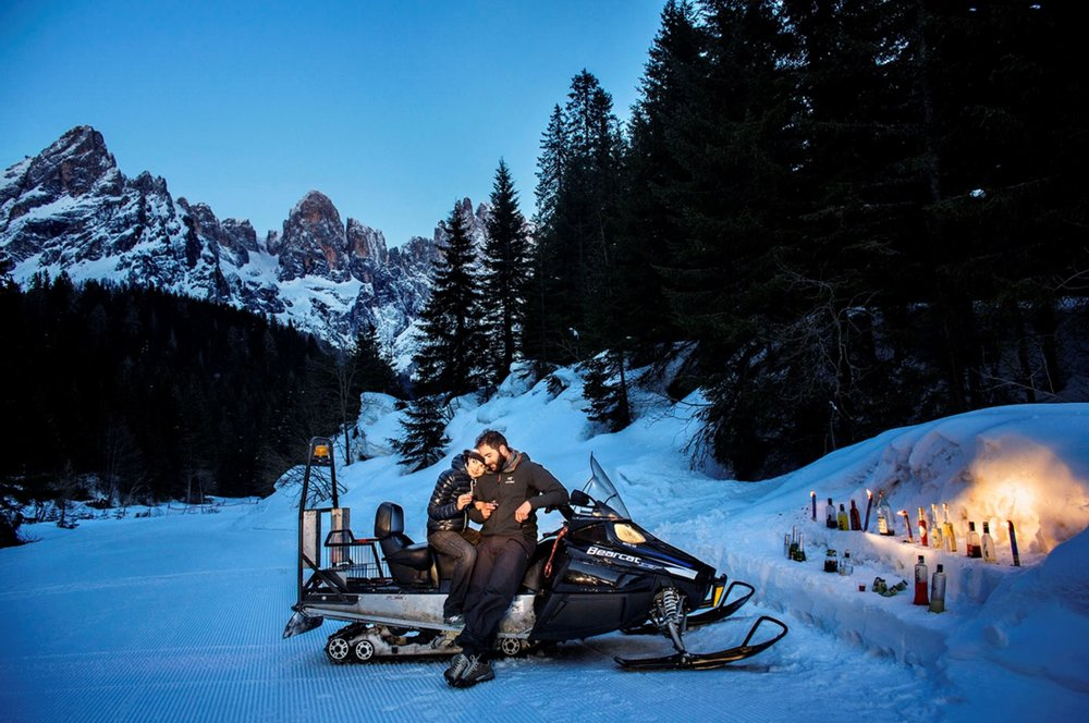 Attività oltre lo sci nella skiarea San Martino di Castrozza - Passo Rolle - © Ph. Luca Catalano Gonzaga