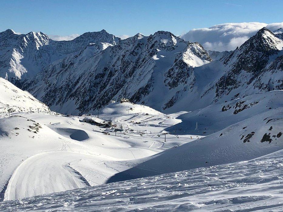Stubaier Gletscher im Januar 2019 - © Stubaier Gletscher