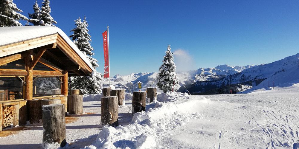 Schatzberg Hütte in Wildschönau - © Wildschönauer Bergbahnen