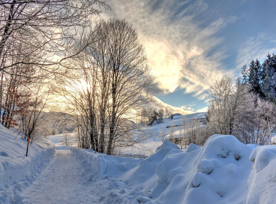 Winterimpressionen aus Inzell - © Inzeller Touristik GmbH