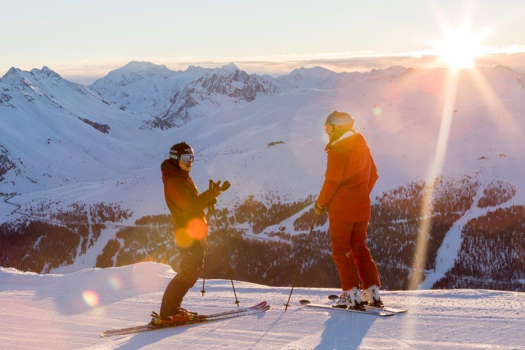 Skiing in Livigno - © Samuel Confortola