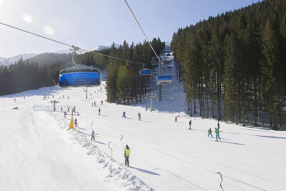 Slnečná lyžovačka na Roháčoch 17.2.2019 - © Roháče Spálená | facebook