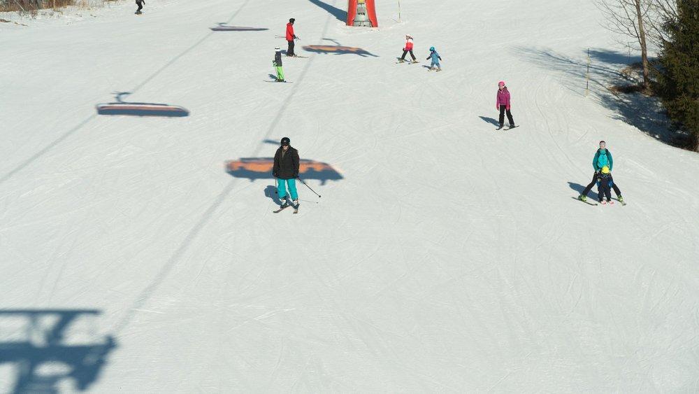 Slnečná lyžovačka v Tatranskej Lomnici (19.2.2019)