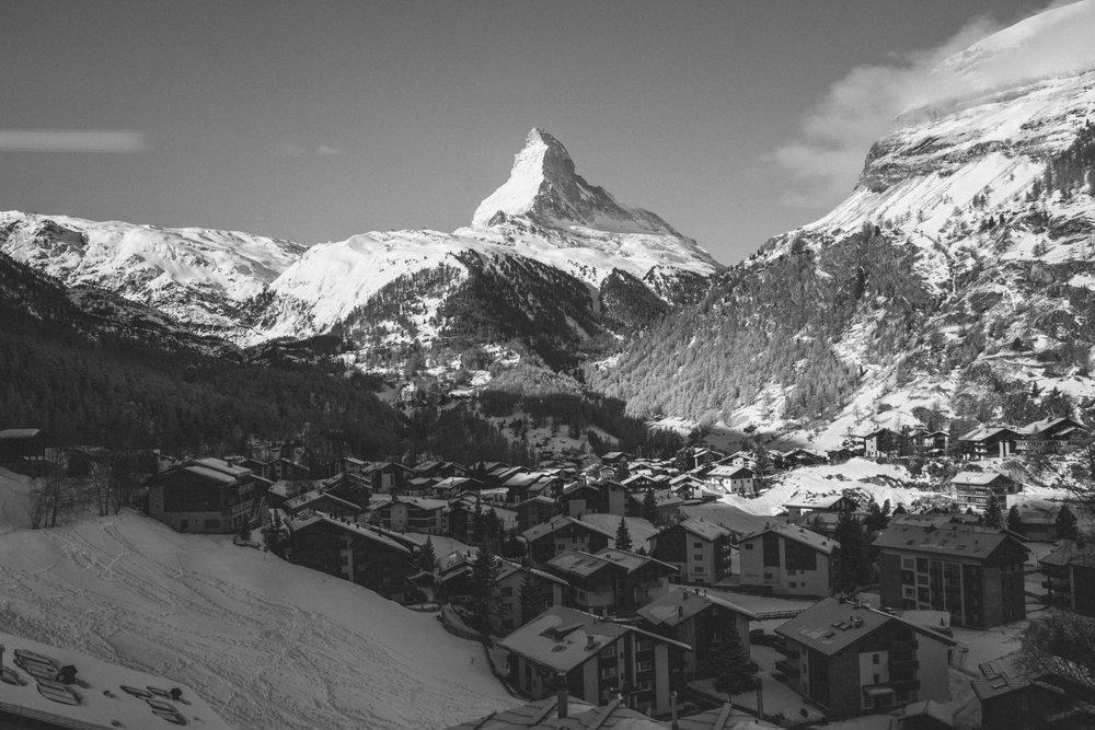 Panorama aus der Gornergratbahn - © Skiinfo | Sebastian Lindemeyer
