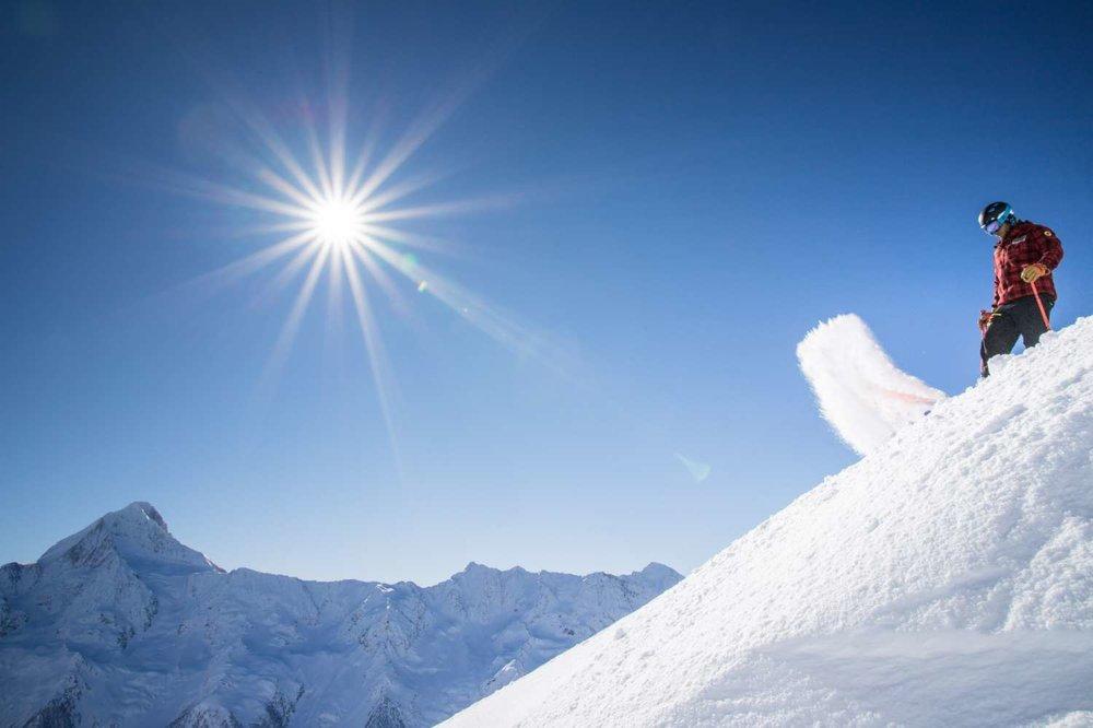Skifahren im Lötschental - © Lötschental Marketing AG