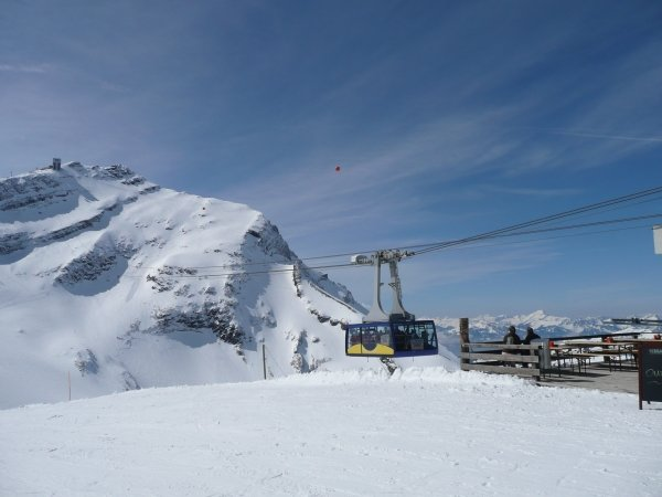 Gondel am Glacier 3000 - © Destination Gstaad