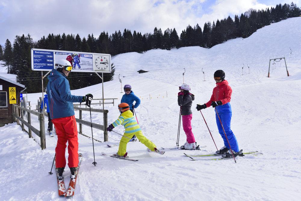 Skiparadies Kranzberg - © Alpenwelt Karwendel