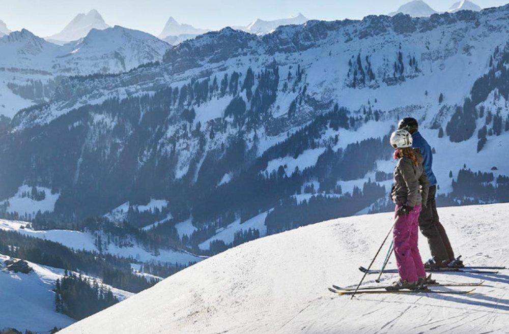 Skifahrer in Marbach - © Marbachegg