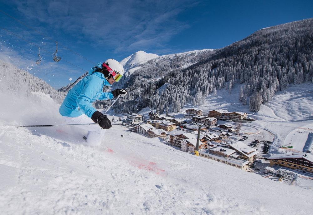 Skifahren in Zauchensee - © Zauchensee Liftgesellschaft