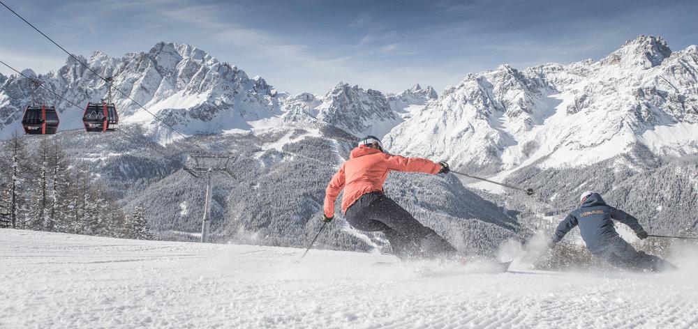 Skigebiet 3 Zinnen Dolomiten - © Bergbahnen 3 Zinnen Dolomites