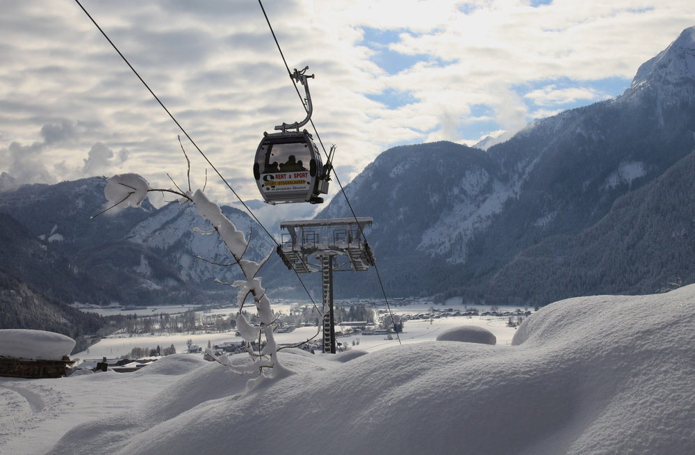 Lofer Seilbahn im Winter - © Almenwelt Lofer