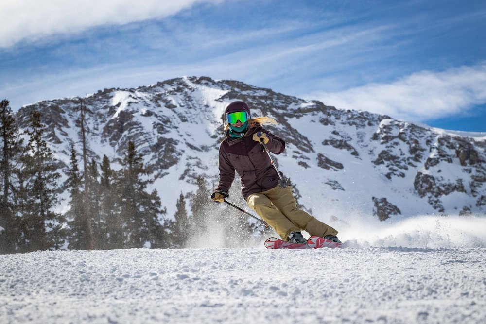 Bluebird groomers are what March skiing are all about! - © Arapahoe Basin / Ian Zinner