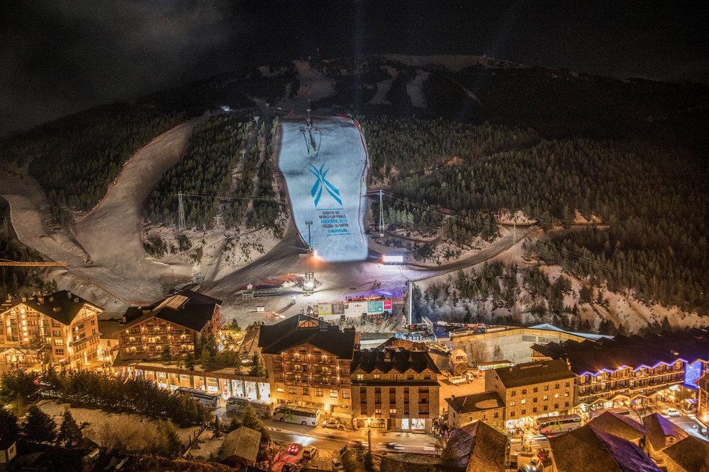 Cérémonie d'ouverture des finales de la coupe du monde de ski 2019 en Andorre (à Grandvalira) - © Agence PGO