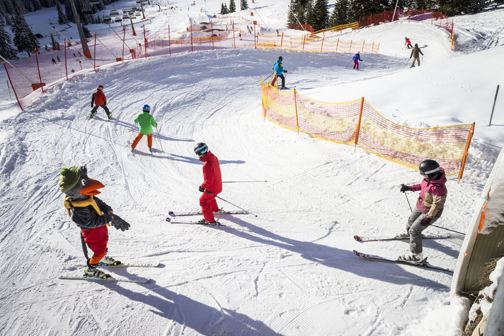 Wunderbares Wetter im Skigebiet Ehrwalder Almbahn - © Ehrwalder Almbahn_Natalia Kusztal