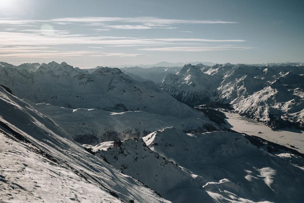 Winterimpressionen aus Engadin St. Moritz - © Engadin St. Moritz Tourismus AG/Fabian Gattlen