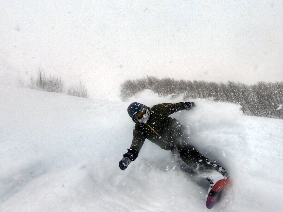 The life of a storm chaser may mean foregoing beach vacations for powder days.