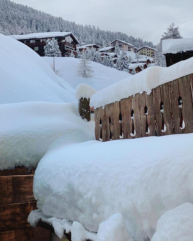 Tief winterlich geht es aktuell noch im italienischen Livigno zu - © Livigno Facebook