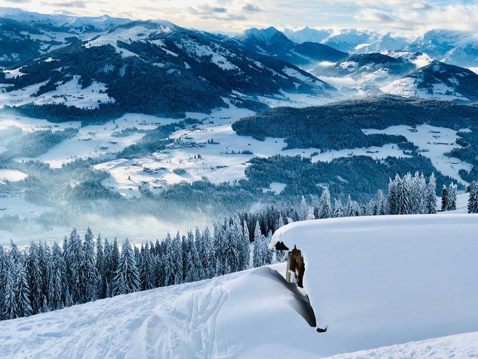 Tolles Winterpanorama in der SkiWelt Wilder Kaiser-Brixental - © Anita Baumgartner