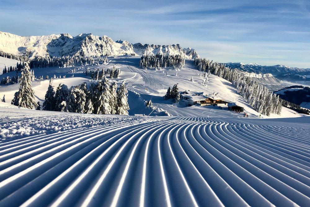 Impressionen aus der SkiWelt Wilder Kaiser Brixental (Januar 2019) - © Anita Baumgartner