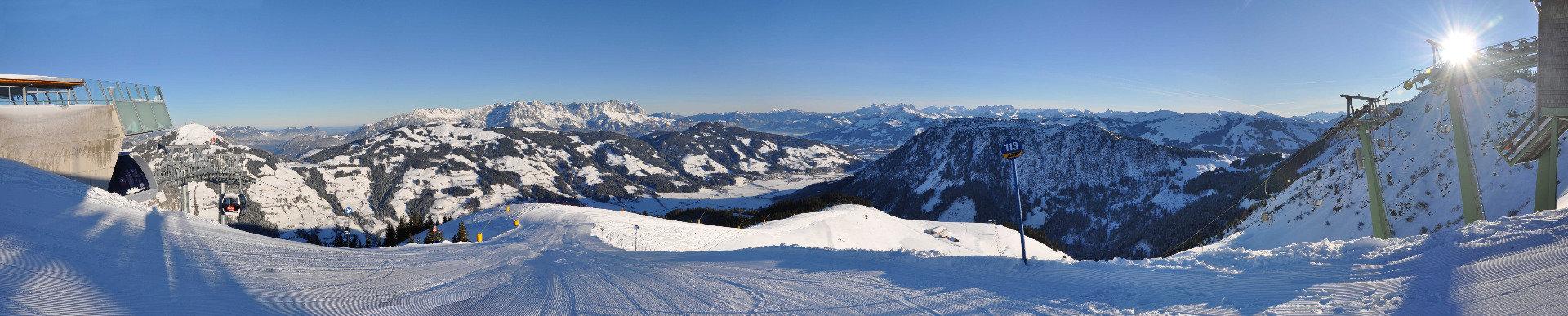 Panorama in der SkiWelt - © Christian Kapfinger