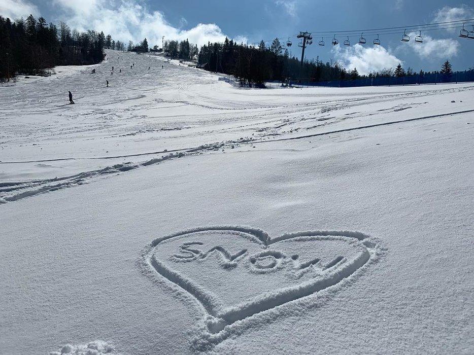 Čerstvý sníh ve Snowparadise Veľká Rača Oščadnica - © Snowparadise Veľká Rača Oščadnica
