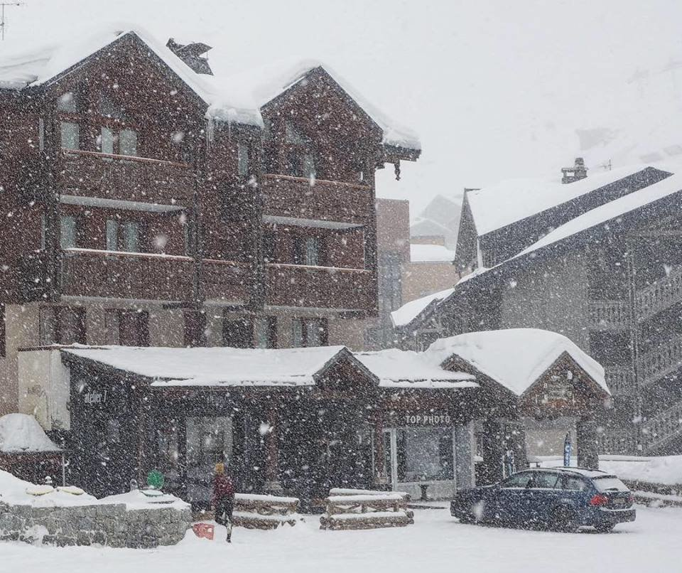 Snowy Sunday in Val Thorens (27.1.19) - © Val Thorens/Facebook