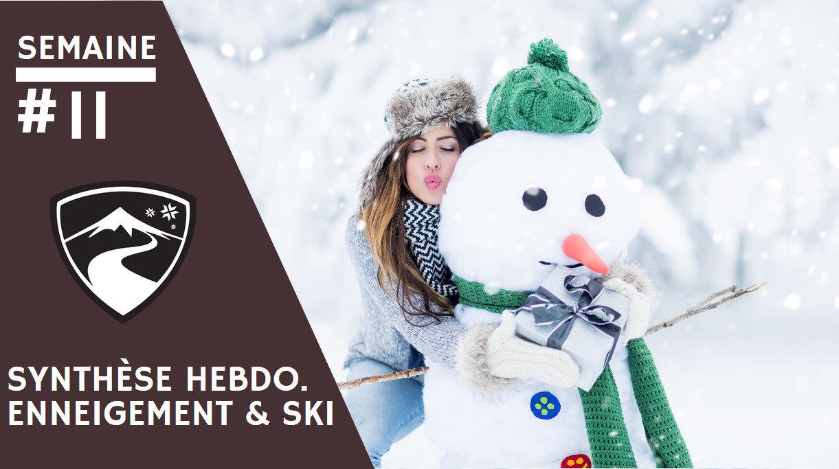 Rapport hebdomadaire du 13 mars 2019 et synthèse des conditions d'enneigement dans les stations de ski françaises (évolution des hauteurs de neige, taux d'ouverture des domaines skiables...) - © drubig-photo - Fotolia.com
