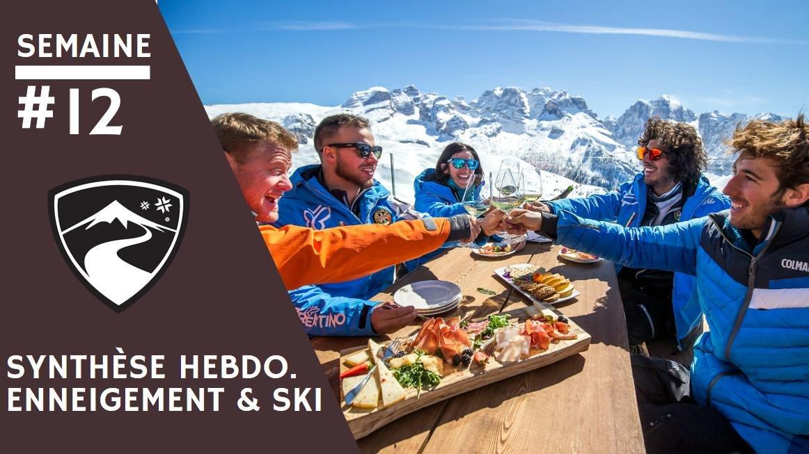 Rapport hebdomadaire du 21 mars 2019 et synthèse des conditions d'enneigement dans les stations de ski françaises (évolution des hauteurs de neige, taux d'ouverture des domaines skiables...) - © Ph. A. Russolo