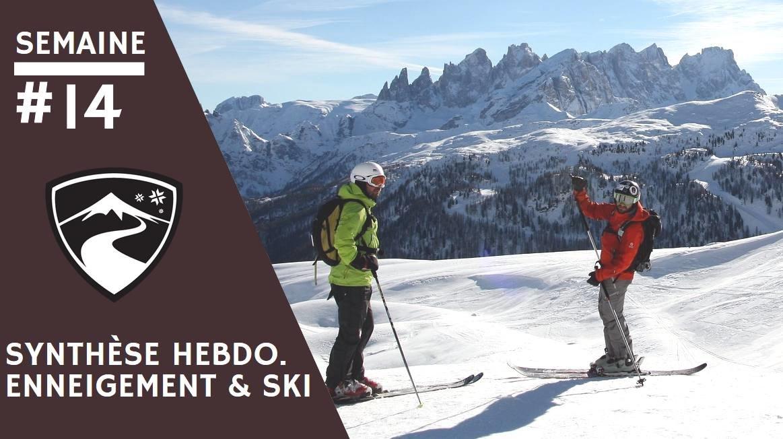 Rapport hebdomadaire du 3 avril 2019 et synthèse des conditions d'enneigement dans les stations de ski françaises (évolution des hauteurs de neige, taux d'ouverture des domaines skiables...)