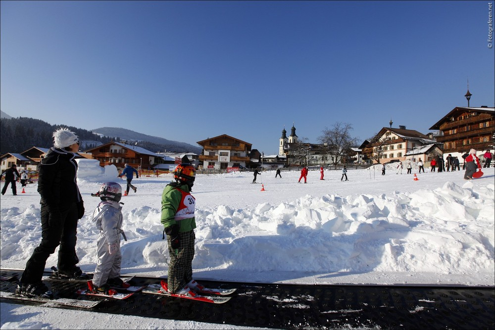 Kids at Hopfgarten im Brixental, Austria