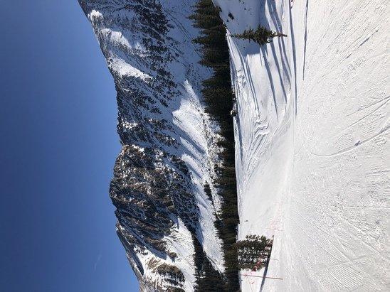 Arapahoe Basin Ski Area - Top of A Basin. Pretty day, limited runs. Satisfied overall.  - © Jason Herndon